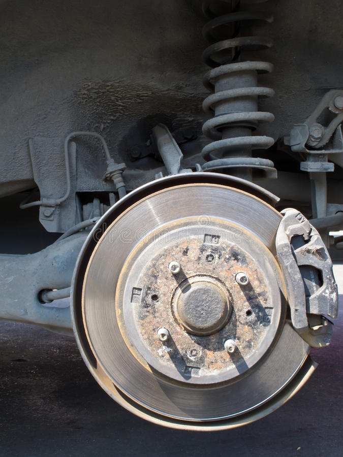 Free Car Brake Disc Stock Photos - 29557593