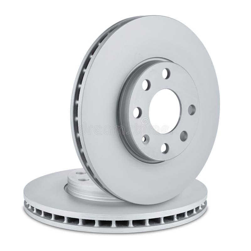 Car brake discs royalty free stock photography