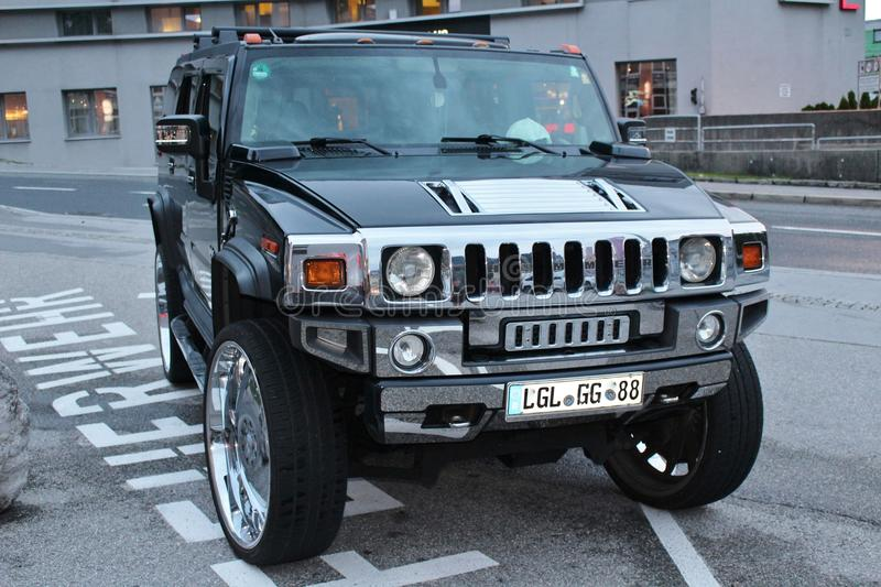 A Car Of The nd Hummer In Austria Editorial Image - Image of ...