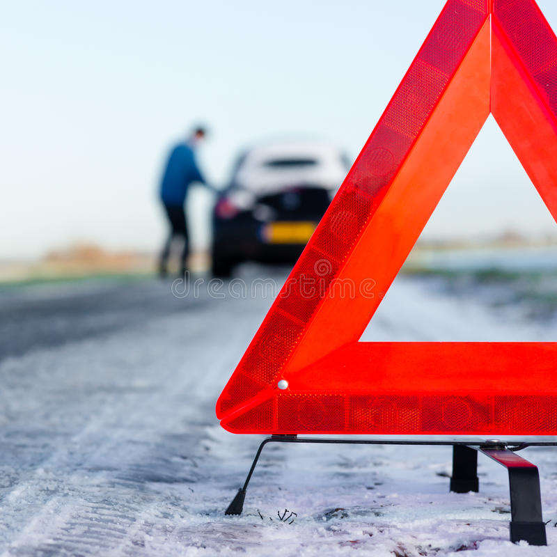 Download A car with a breakdown stock image. Image of accident - 28059567