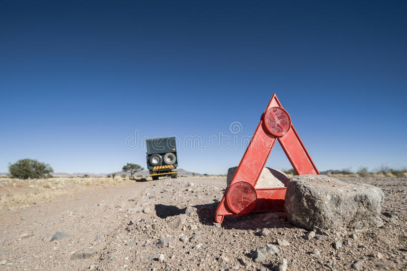 Download Car Breakdown In The Desert Stock Image - Image: 28673447