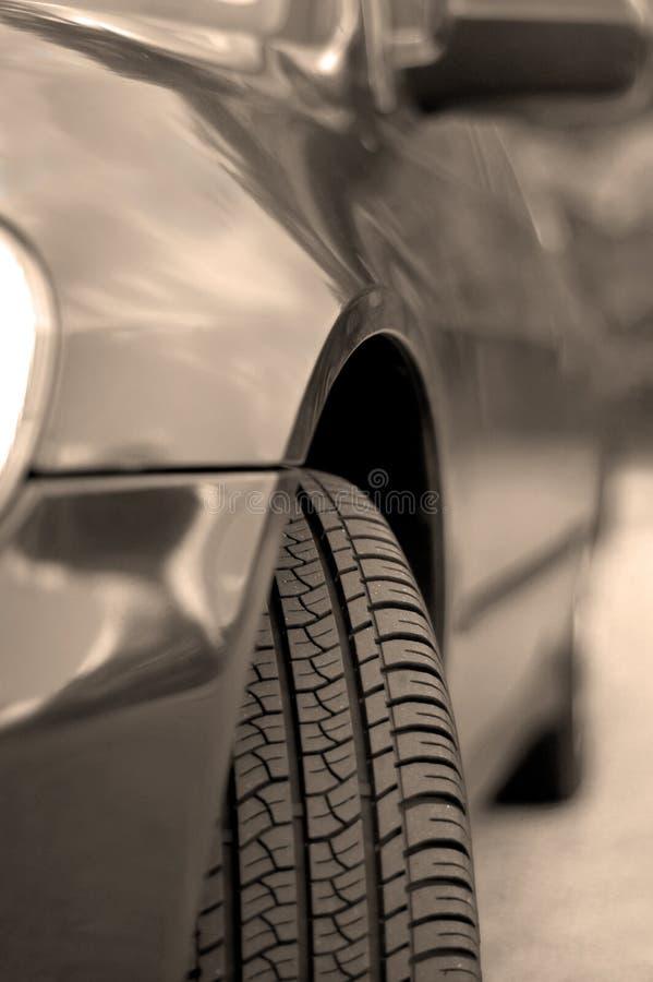 Car BW royalty free stock image
