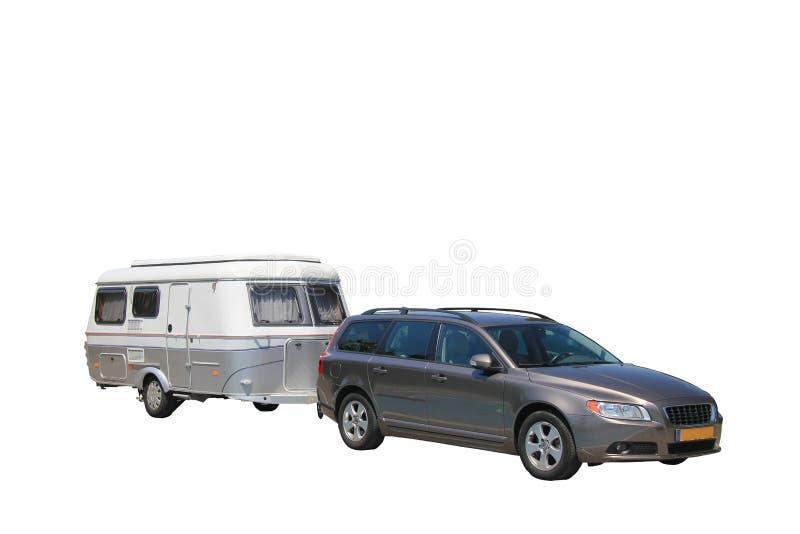 Download Car and caravan stock photo. Image of pull, caravan, caravaning - 25264536