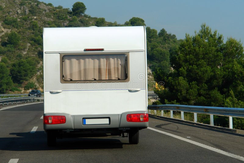 car caravan στοκ φωτογραφίες με δικαίωμα ελεύθερης χρήσης