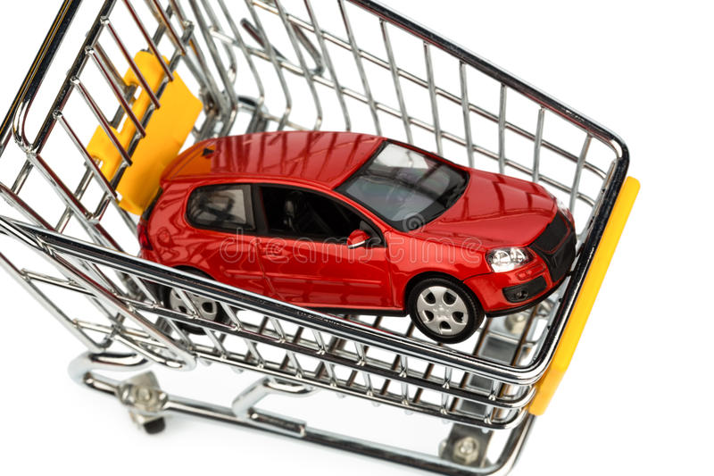 Download Car in cart stock photo. Image of background, dare, deposit - 28447388