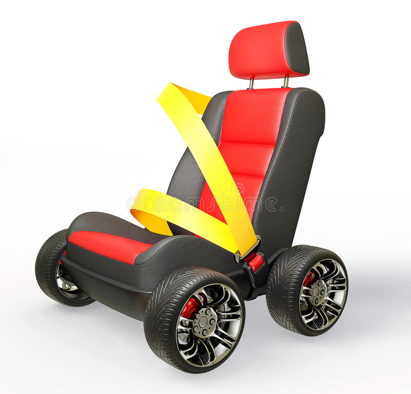 Free Car Chair Stock Photography - 25078472