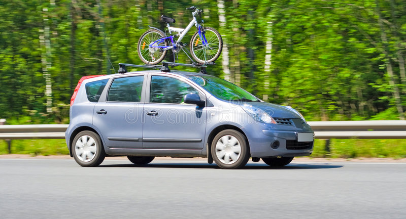 A car for a city stock photo