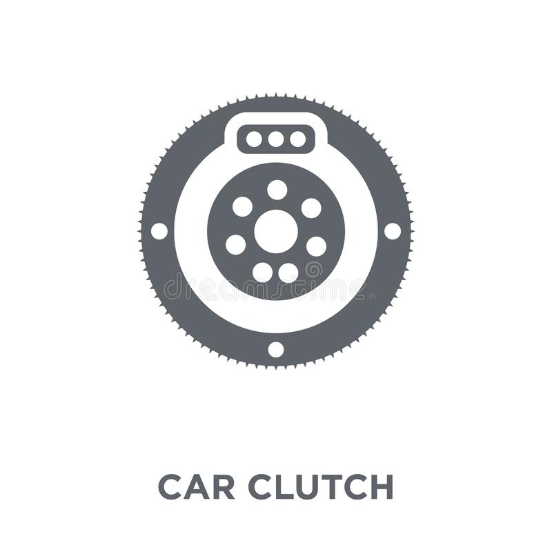 car clutch icon from Car parts collection. stock illustration