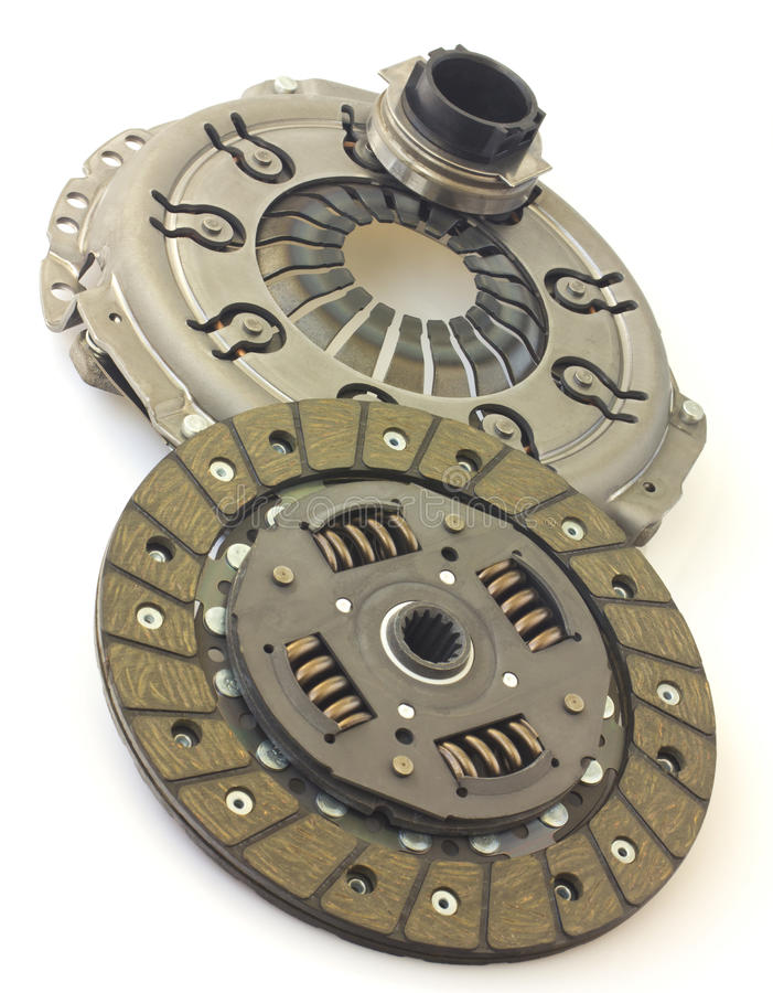 Car clutch isolated stock photo