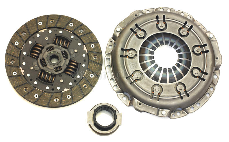 Car clutch isolated royalty free stock image