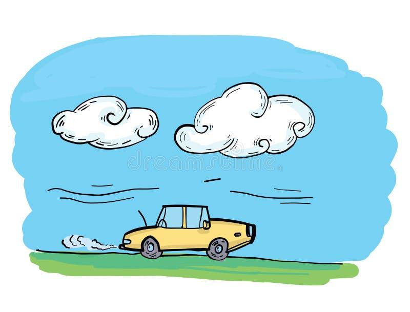 Vector Art - Co2 emissions vector illustration, car carbon dioxide emits  symbol. EPS clipart gg86764214 - GoGraph