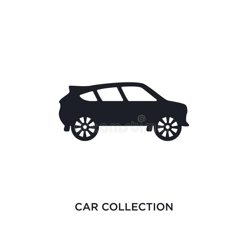 Car collection isolated icon. simple element illustration from luxury concept icons. car collection editable logo sign symbol. Design on white background. can vector illustration
