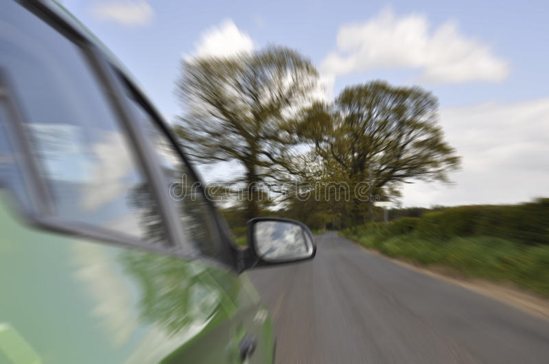 Car On Country Road Royalty Free Stock Images