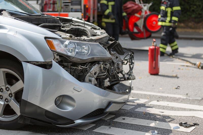 Car_crash lizenzfreie stockfotos