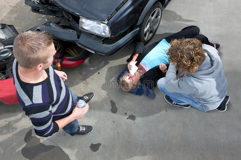 Download Car crash stock photo. Image of bystanders, looking, motorist - 16105360