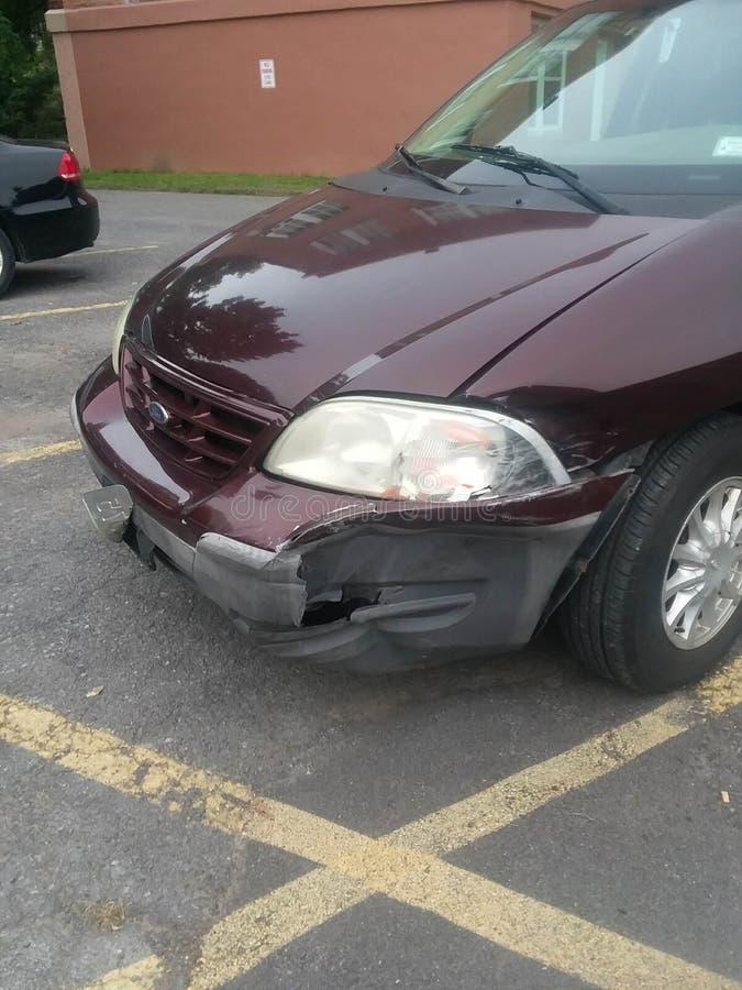 Car crash royalty free stock images