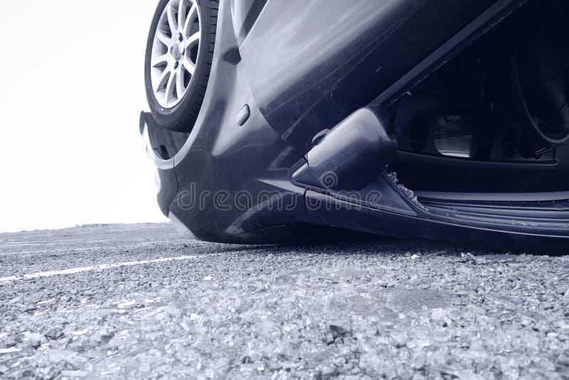 Car crash, detail royalty free stock images
