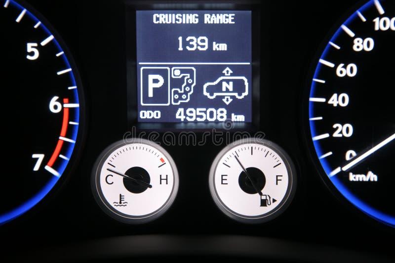Download Car dash stock image. Image of temperature, range, parking - 32122031