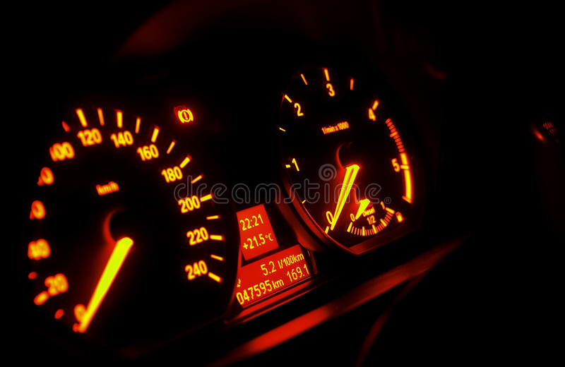 Download Car dashboard stock image. Image of consumption, instrument - 15727305