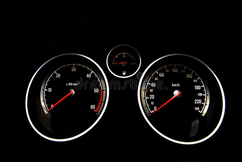 Download Car dashboard stock image. Image of kilometer, needle - 17946371