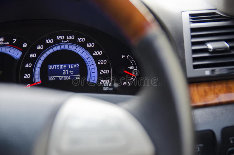 Car Dashboard Stock Images