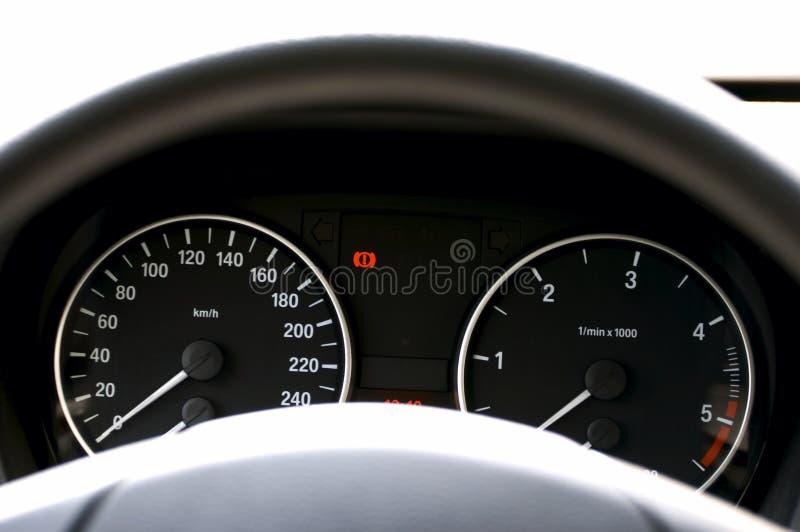 Car dashboard royalty free stock image