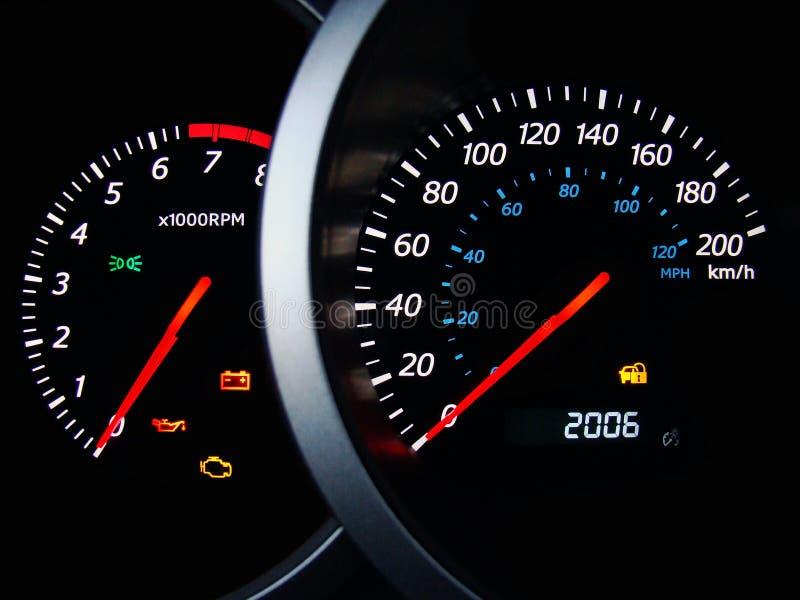 car dashboard στοκ εικόνες