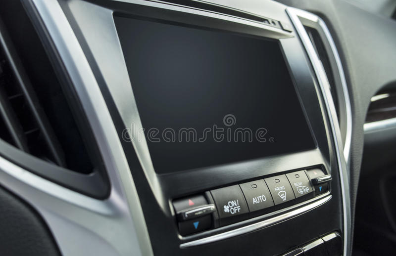 Download Car dashboard stock image. Image of touch, dial, view - 84636793