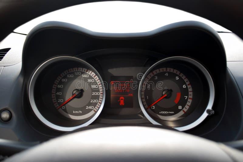 Car dashboard, isolated stock photos