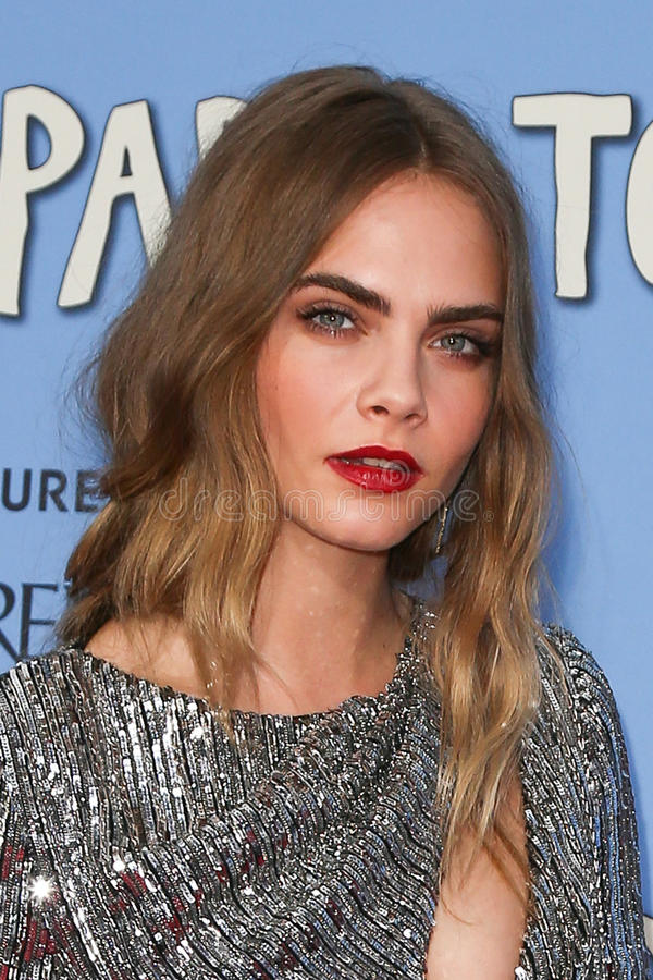 Car Delevingne obrazy stock