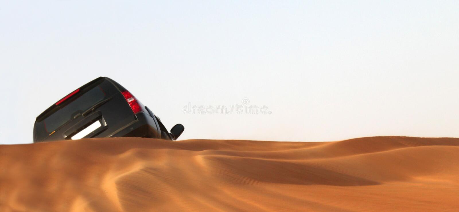 Download Car In Desert Royalty Free Stock Photo - Image: 21668465
