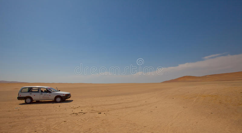 Download Car in desert stock photo. Image of white, automobile - 25184700