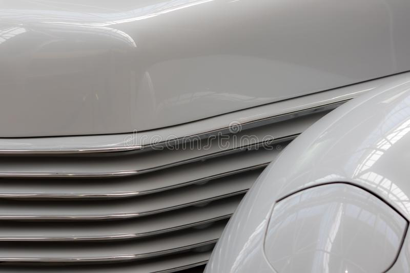 Car design abstract background image. Motor vehicle research and. Development. Contemporary automobile detail mock-up stock images