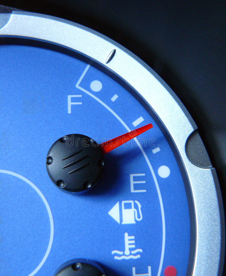 Car Dials. Car or truck dials and gauges stock photography