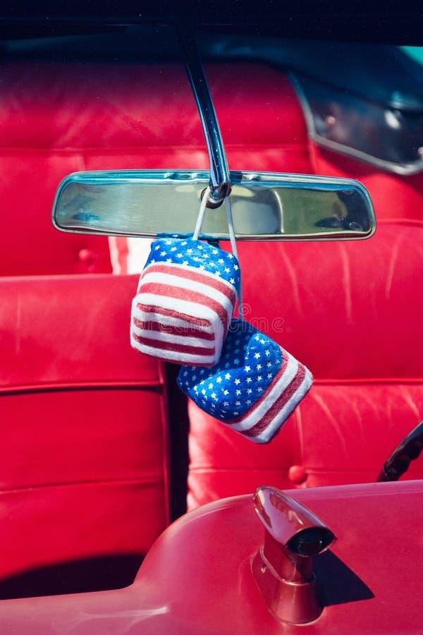 Car dice royalty free stock image