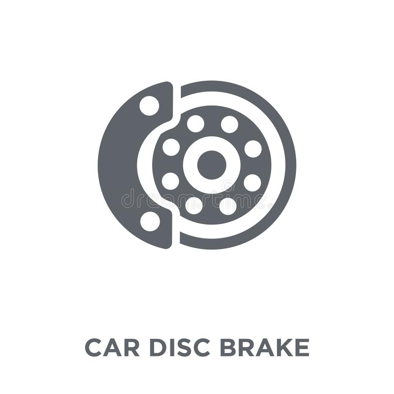 car disc brake icon from Car parts collection. stock illustration