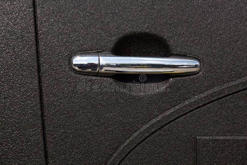 Car door handle royalty free stock photos