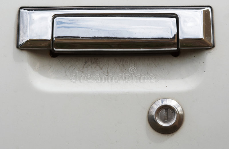 Car Door Handle stock photo