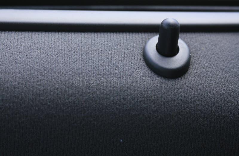 Car Door Lock Close Up Stock Images