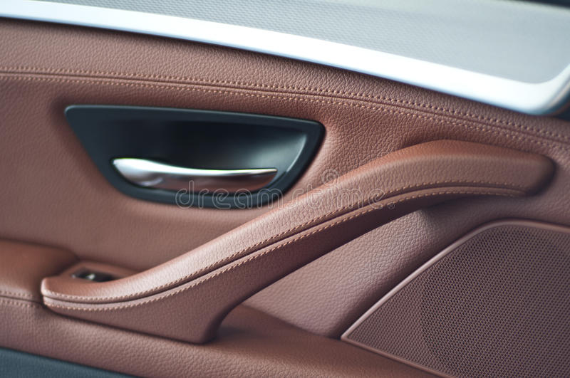 The car door panels royalty free stock photo