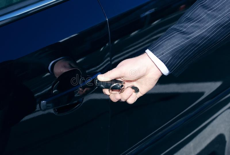 Download Car door unlock by key stock photo. Image of system, security - 10615108