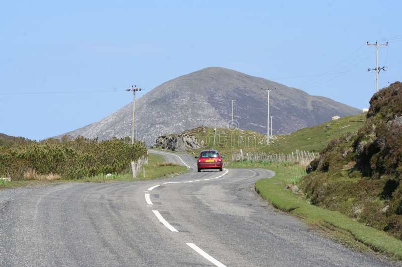 Download Car driving along road stock photo. Image of outer, country - 2728648