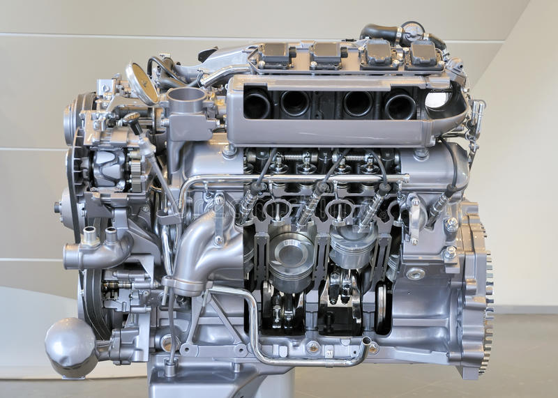 Download Car engine stock image. Image of automotive, luxury, engine - 15438999