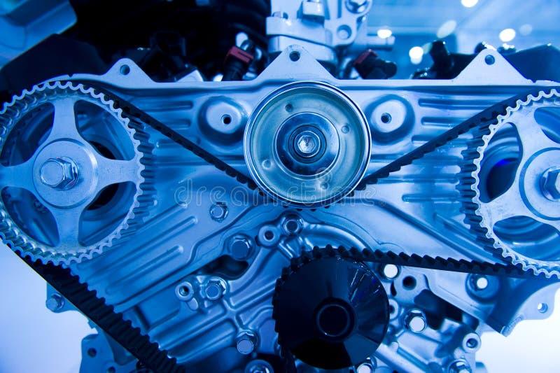 Car engine. An engine of a modern car stock photo