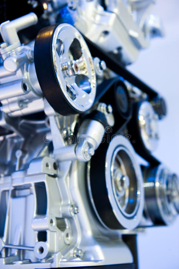 Car engine. An engine of a modern car royalty free stock images