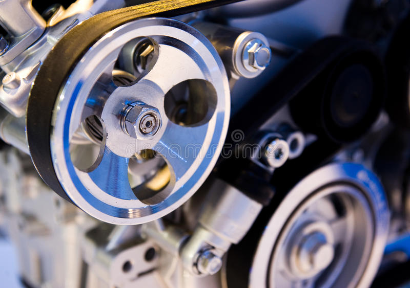 Car engine. An engine of a modern car royalty free stock image