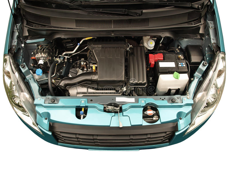 Download Car engine stock image. Image of battery, compact, exposing - 26286519