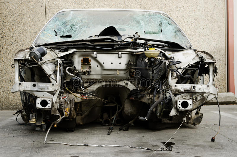 Download Car without an engine stock photo. Image of neglect, scrap - 27484192