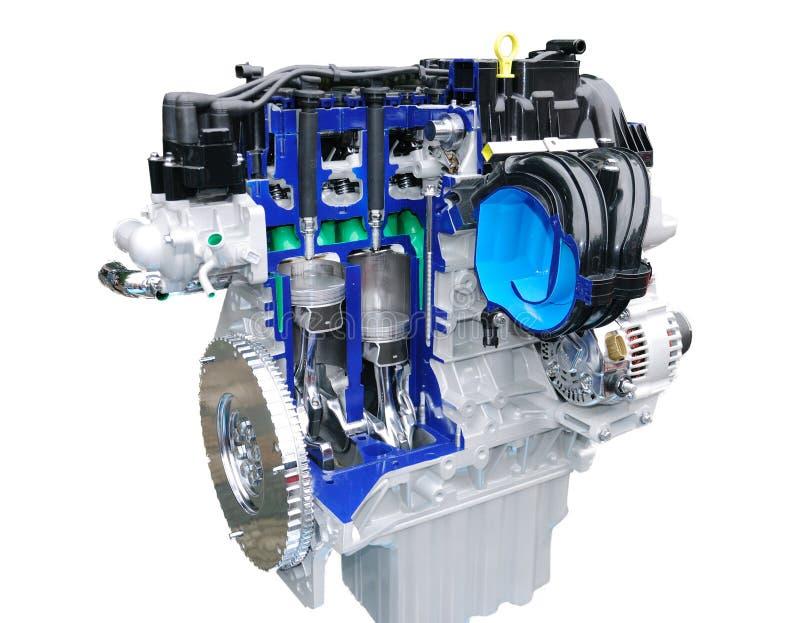 Download Car engine stock photo. Image of motor, chrome, auto - 27879086