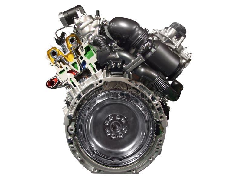 Car engine stock photo